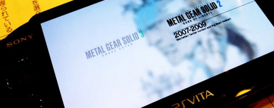 Metal Gear Solid HD Collection: E3