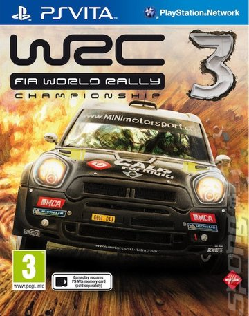 cover_WRC: FIA World Rally Championship 3: Gameplay